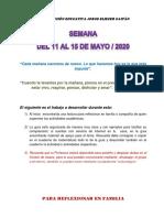 Guìa Matemàticas 6 grado (Mayo 11-15)