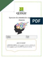 Estimulación cognitiva- Atencion sem 10