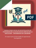 LABORATORIO SOCIAL DE INVESTIGACIÓN