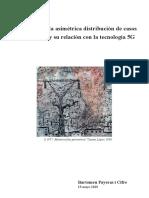 Estudio sobre la asimétrica distribución de casos de COVID-19 y su relación con la tecnología 5G