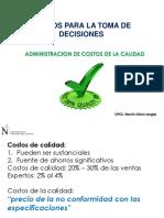Clase 10 Administración de Costos de Calidad