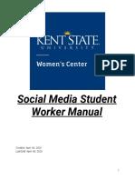 social media student worker manual - final draft  1