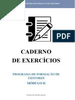Caderno Exercícios_Modulo II _ Exer 4 e 5