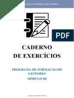Caderno Exercícios_Modulo III _ Exer 6 e 7