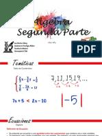 ALGEBRA - PARTE DOS