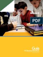 Guia Recursos Educativos Gratuitos Español Microsoft