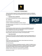 Plan de Comisiones