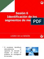 Sesión 6 Identificación de los segmentos de mercado.pptx