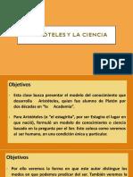 Segunda clase. Aristóteles y la ciencia (1)