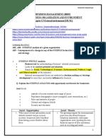 chapter 1.5. External environment(Notes)