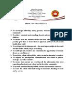 IMPACT OF GPTA