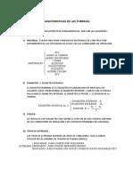 SEMANA DEL 18 AL 22 DE MAYO PROCESOS DE SEPARACION TUBERIAS CARACTERISTICAS