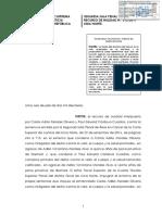 R.N. 312-3017 - Lima Norte - Homicidio - Parricidio - La teoria del dominio del hecho es la mas aceptada en doctrina y jurisprudencia - Autoria y participacion
