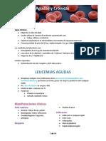 (8) Leucemias Agudas y Crónicas