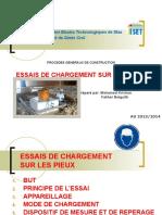 4- ESSAIS DE CHARGEMENT STATIQUE SUR LES PIEUX
