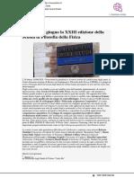 dal 15 al 18 giugno la XXIII edizione della Scuola di Filosofia della Fisica - Vivereurbino.it, 14 giugno 2020