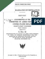 Malmedy REPORT US Senate - 1949