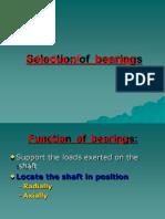 Bearing Selection