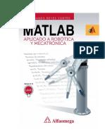 MATLAB Aplicado a Robótica y Mecatrónica - Fernando Reyes Cortes