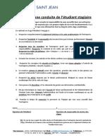 Charte de bonne conduite de l'étudiant stagiaire-ok (1)