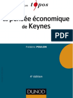 (Les Topos) Frederic Poulon - La Pensée Économique de Keynes-Dunod (2016)