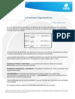 Lectura Identidades y Ecuaciones Trigonomtricas
