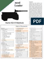 ASL Starter Kit #3 Rulebook
