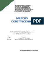 DERECHO CONSTITUCIONAL al 25 Abril 2020 jamg