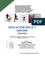 trabajo Deporte SEGUNDO LAPSO Volleyball