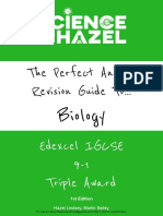 The Perfect Answer Biology Revision Guide - Edexcel IGCSE 9-1 - 1st Edition