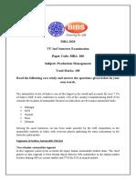 MBA 206_PRODUCTION MANAGEMENT_2nd SEM
