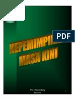 Microsoft PowerPoint - Kepemimpinan Masa Kini - Asnet .pdf