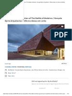Center for Interpretation of The Battle of Atoleiros _ Gonçalo Byrne Arquitectos + Oficina Ideias em Linha _ ArchDaily