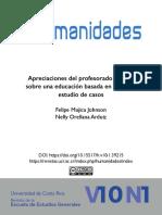 Apreciaciones del profesorado chileno sobre una educación basada en el amor.pdf