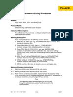 Instrument Security Procedures