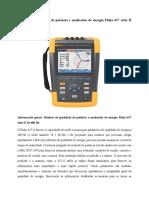 Monitor de qualidade de potência e analisador de energia Fluke 437
