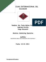 Proyecto Final Marketing Operativo