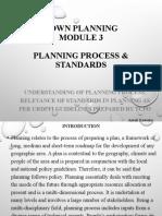 Planning Process & Standards
