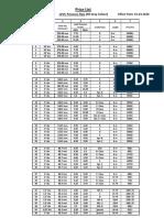 Price List-20