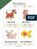 Tierekartchen_Haustiere