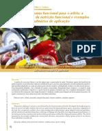 Artigo Gastronomia Funcional no Esporte