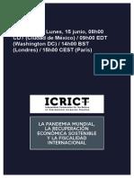 ICRICT Pandemia y Fiscalidad Internacional_EMBARGO 15 Junio 09h00 EDT
