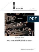 Crimson Trace CTS-1000 ILLUMINATED BATTLESIGHT