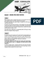 MB A32F Ground Speed Mini - Bulletin