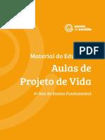 PROJETO DE VIDA - 6º ANO - MATERIAL DO EDUCADOR