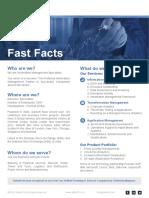 Saksoft - Fast Facts