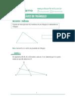 05 - Pontos notáveis do triângulo - Teoria