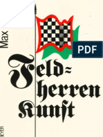 Max Euwe - Feldherrenkunst Im Schach (German)