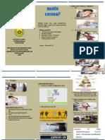 CORONA leaflet