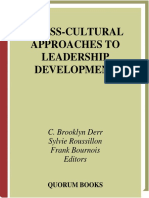 Cross-Cultural Approaches to Leadership Development by Derr C.B., Roussillon S., Bournois F.pdf